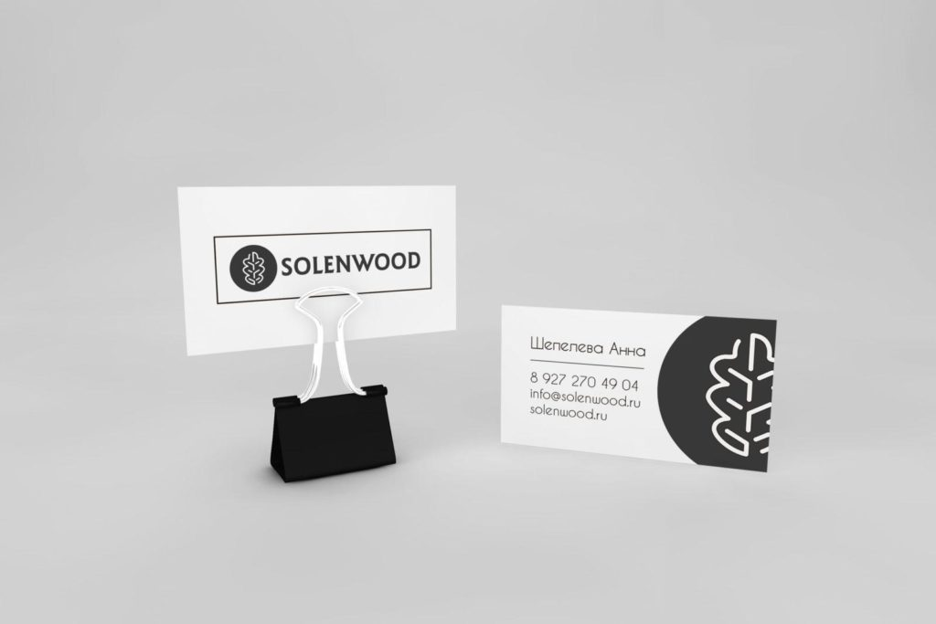 визитки для столярной мастерской