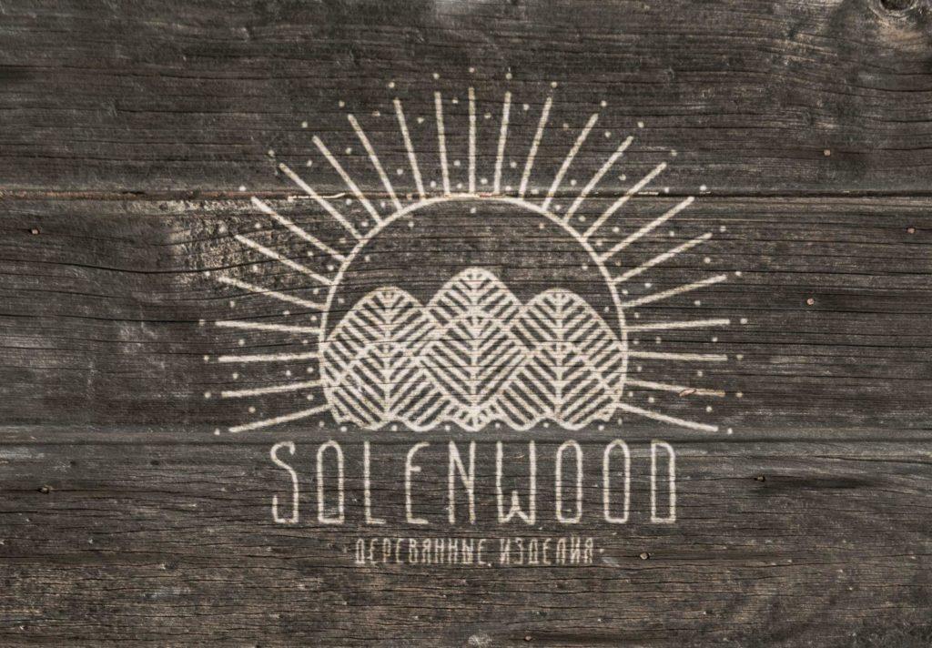 логотип в виде солнца