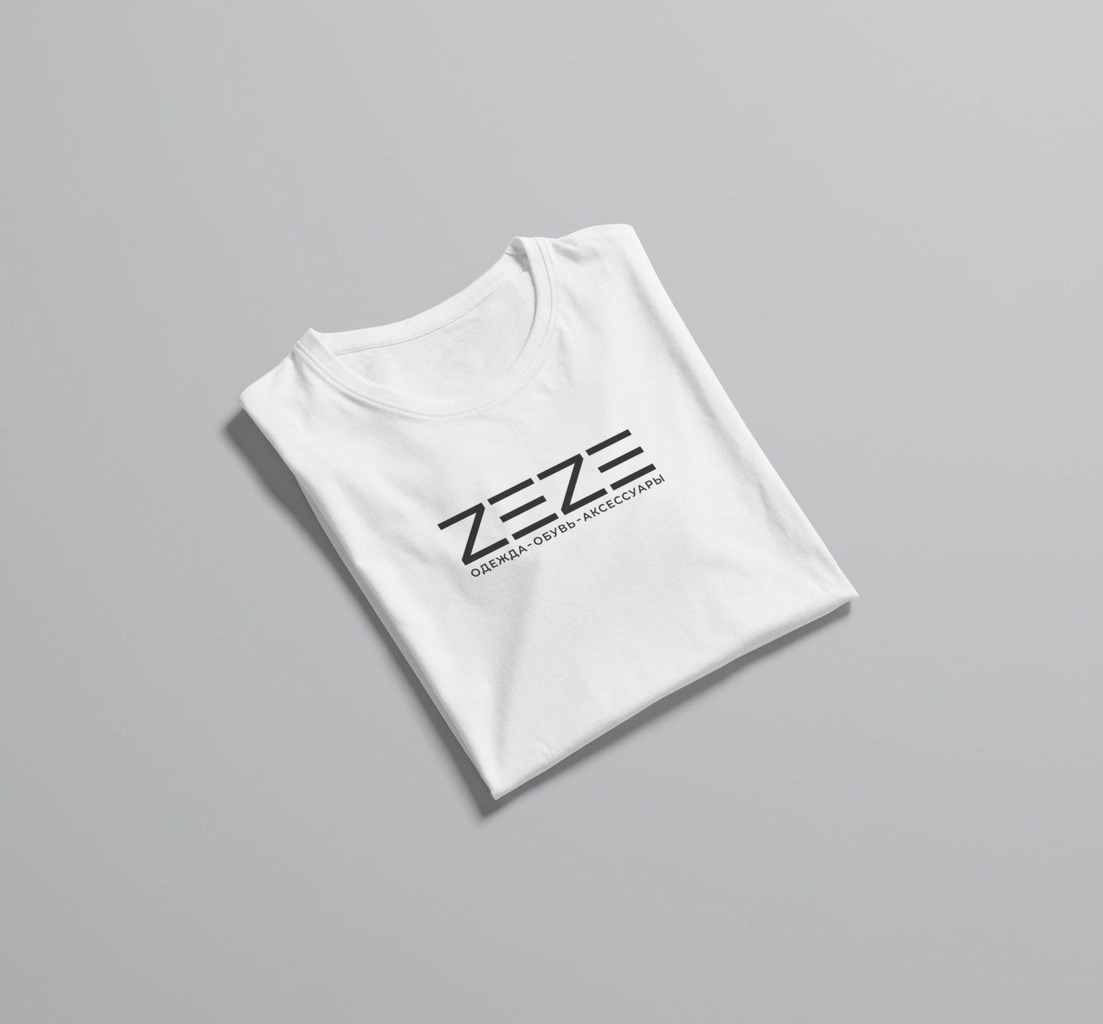 Логотип для магазина одежды на футболке