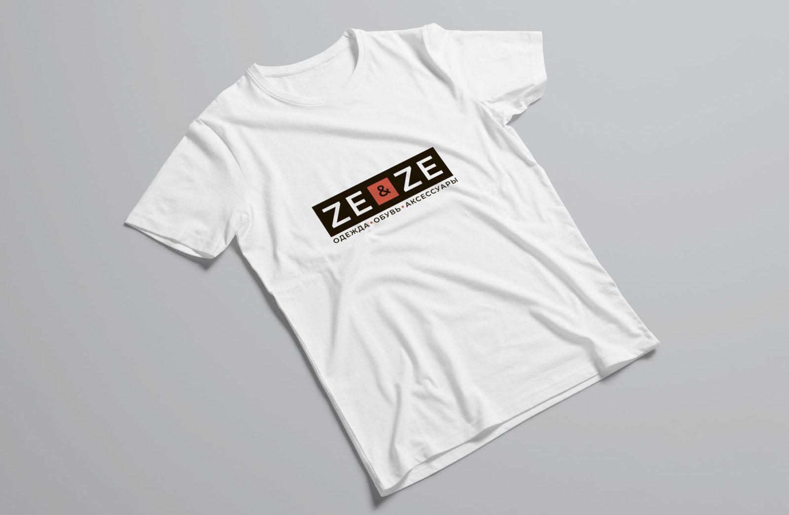 Логотип для магазина одежды на футболке 2