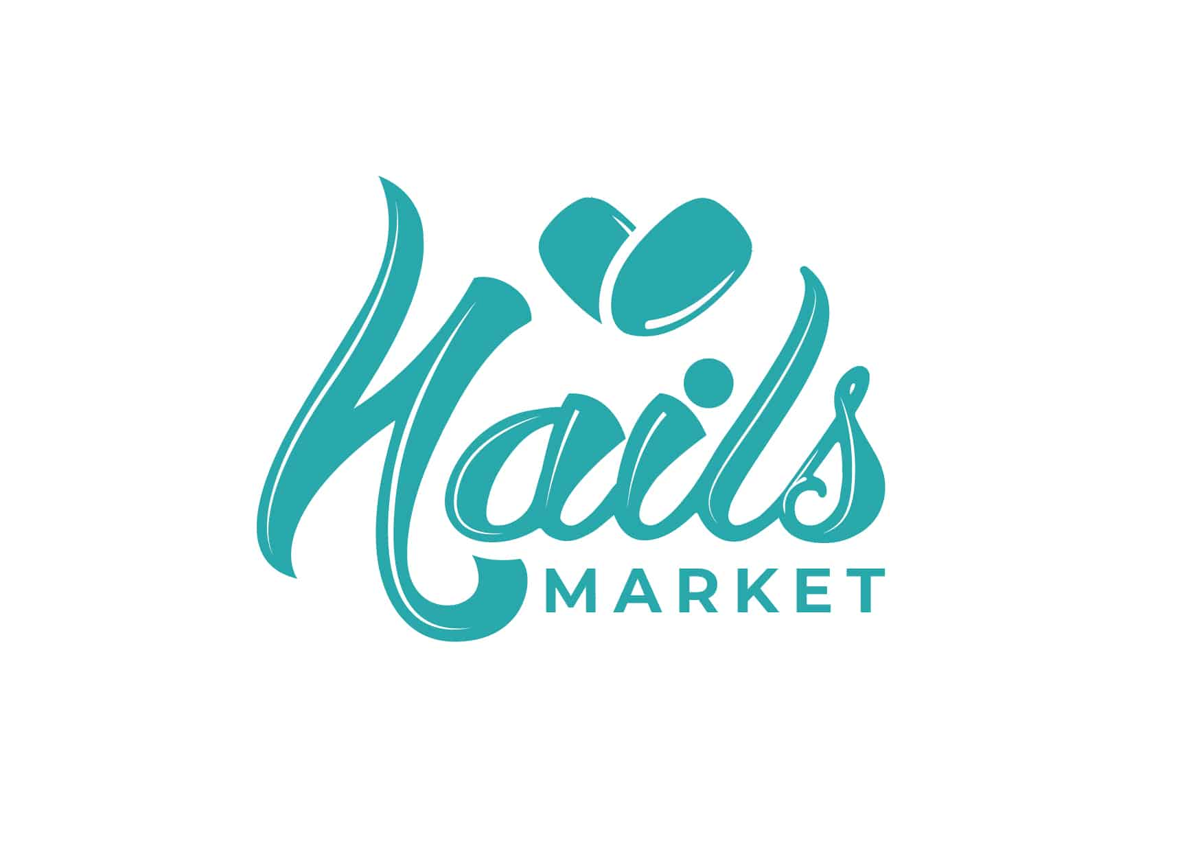 """Логотип интернет-магазина маникюрных инструментов и принадлежностей """"Market Nails"""" 7"""