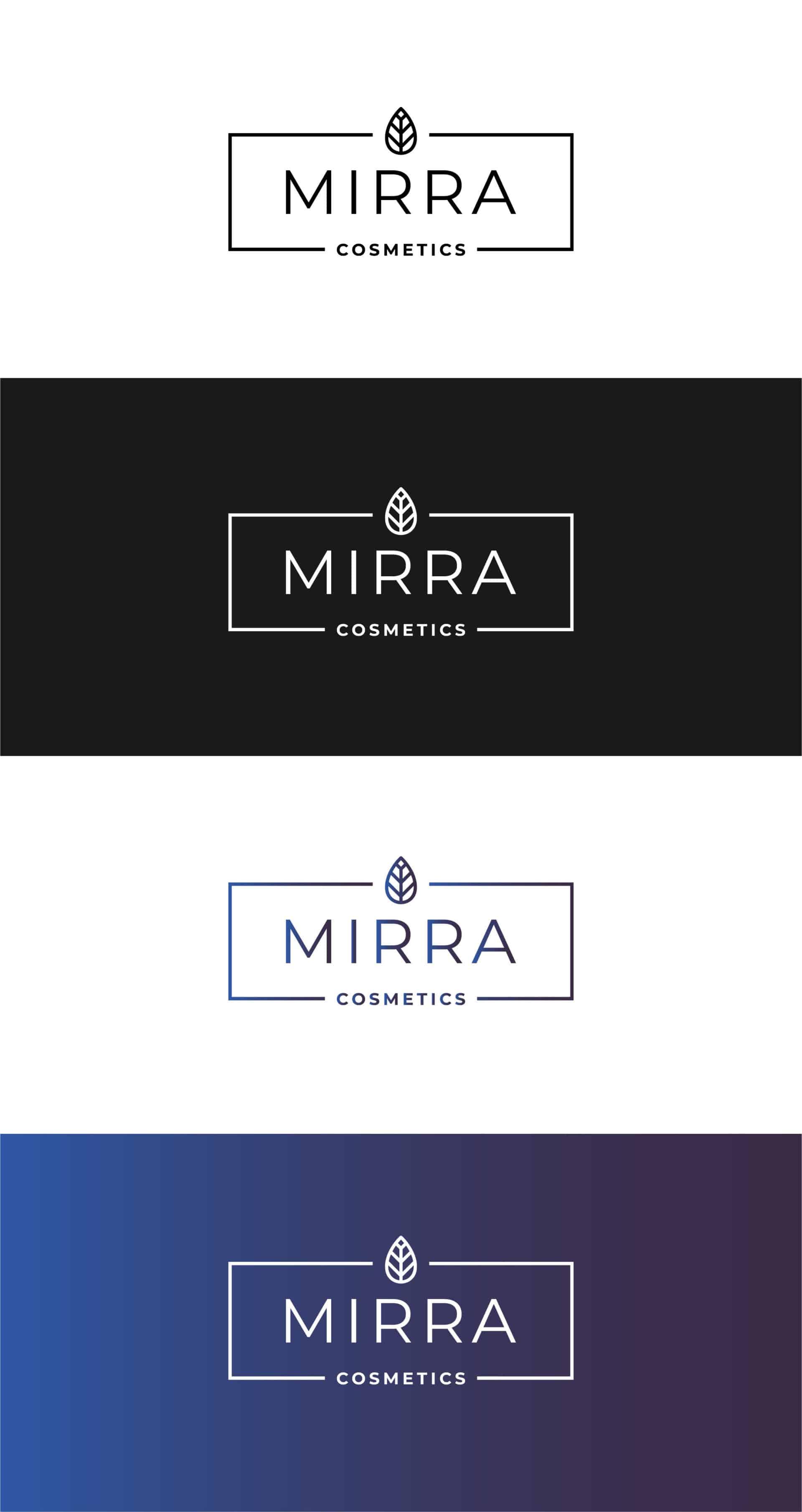 "Логотип косметической компании ""Mirra Cosmetics"" 1"