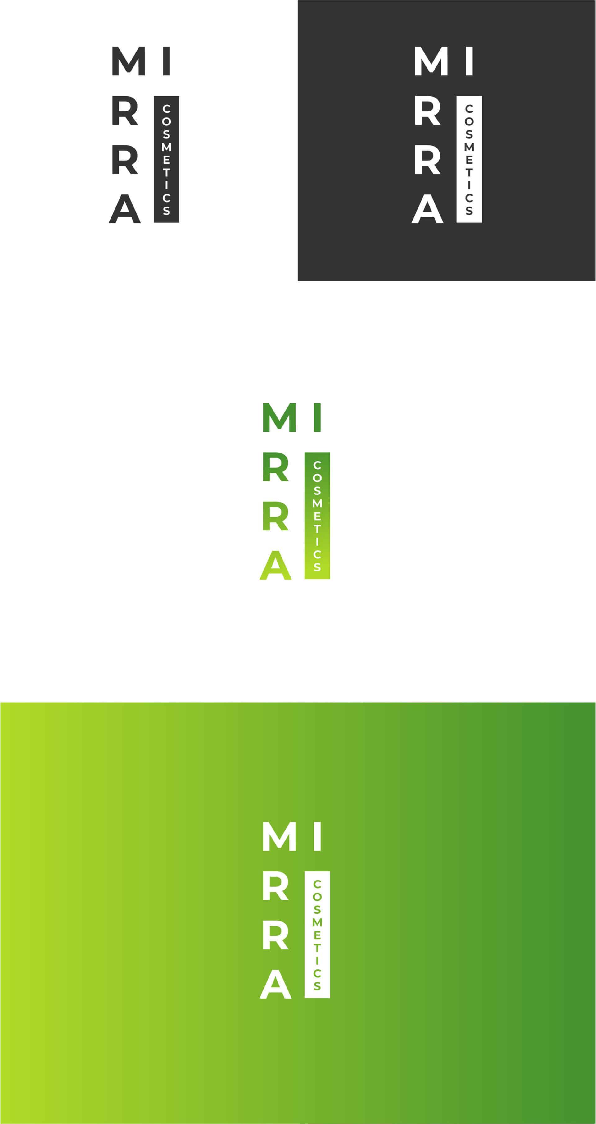 "Логотип косметической компании ""Mirra Cosmetics"" 5"