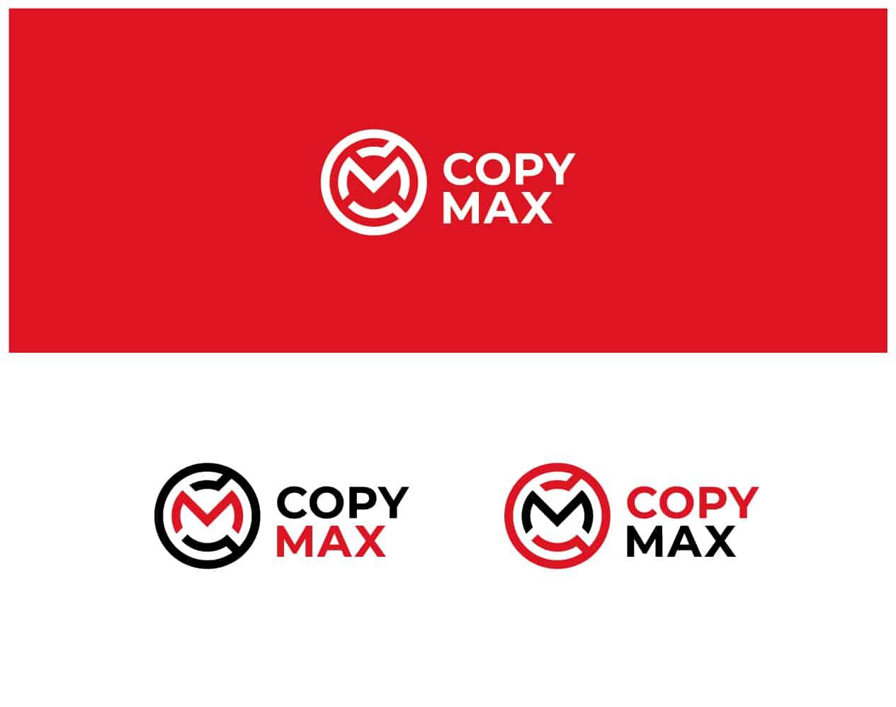 черно красный логотип компании