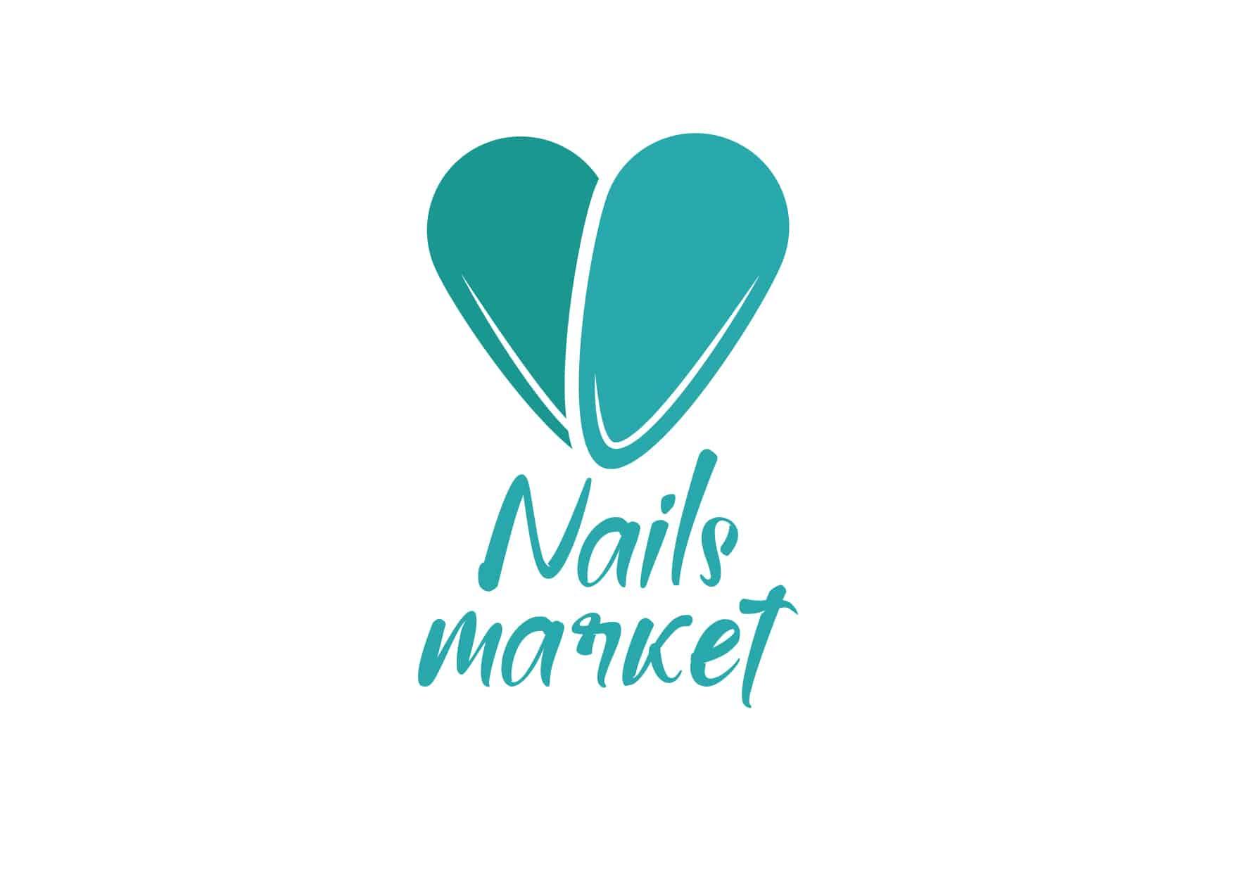 логотип в виде ногтей