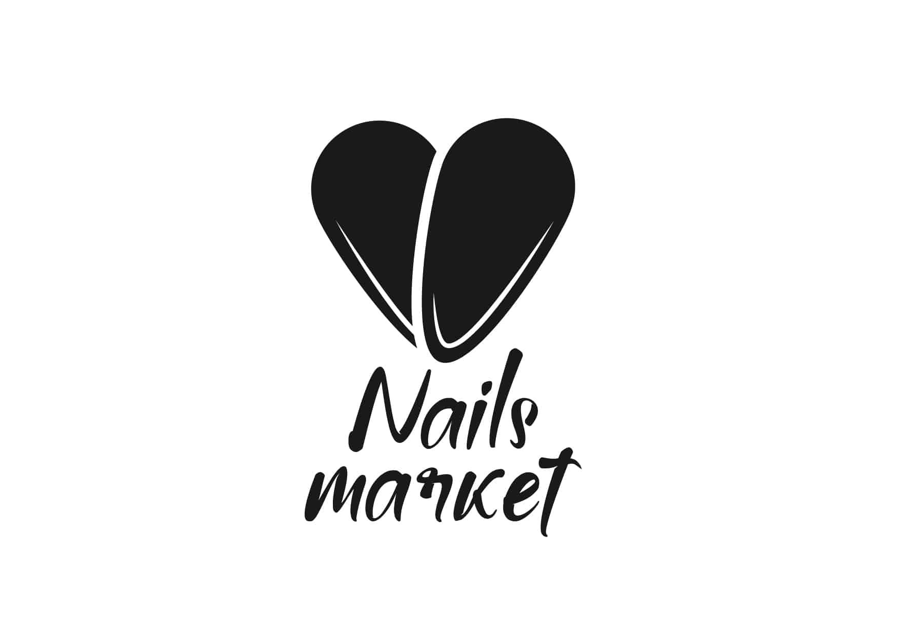 логотип интернет магазина nails market